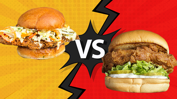 We Taste Tested Two Chicken Sandwiches (With Better Sourcing Policies Than Popeyes)