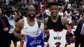 Dwyane Wade Helped Sell Jimmy Butler On The Heat By Saying 'This Culture Fits You'