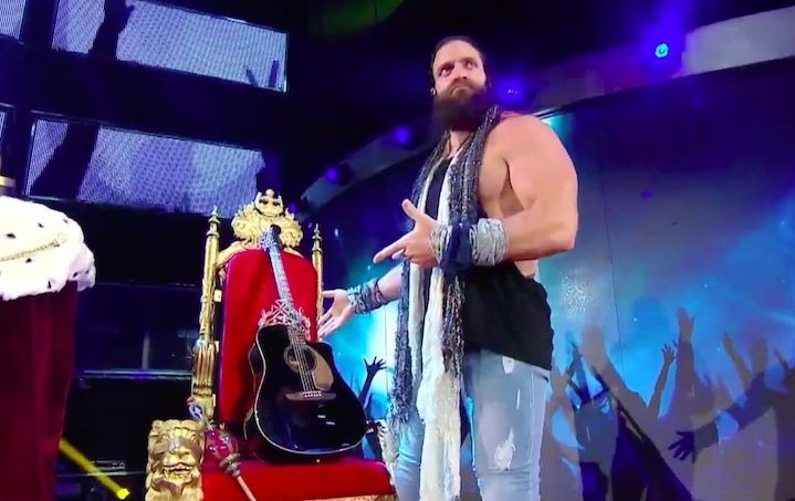 Elias Is Out Of The King Of The Ring Tournament Due To Injury