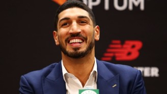 Enes Kanter Won And Lost WWE's 24/7 Title In The Span Of 30 Seconds