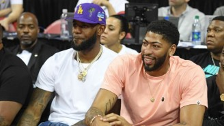 LeBron James Reportedly Encouraged The Lakers To Build The Offense Around Anthony Davis
