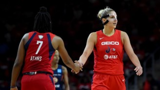 The Washington Mystics Powered Past The Connecticut Sun In Game 1 Of The WNBA Finals