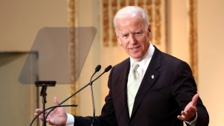 Joe Biden Calling The President 'Donald Hump' Is A Gaffe People Actually Enjoyed