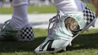 DeSean Jackson's Nipsey Hussle Cleats Will Be Auctioned Off Each Week To Benefit His Charity