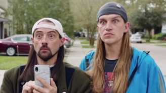 The 'Jay And Silent Bob Reboot' Poster Includes A Tribute To A Marvel Legend
