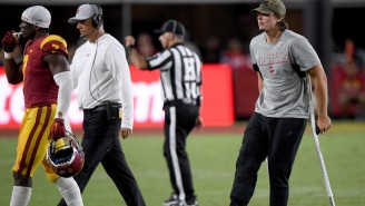 USC QB JT Daniels Is Reportedly Done For The Season With A Torn ACL