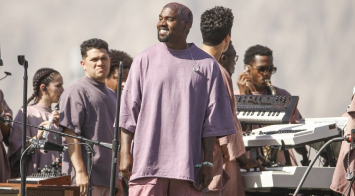 Kanye West Shares Behind-The-Scenes Footage Of His 'Jesus Is King' IMAX Film