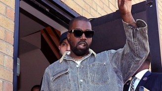 Kanye West Revealed His 'Jesus Is King' Cover During A Listening Event In New York