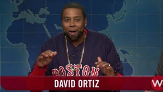 Kenan Thompson's David Ortiz Impression Highlighted The Return Of 'Weekend Update' On 'SNL'