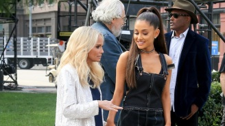Ariana Grande And Kristin Chenoweth Duet On A Throwback Cover Of 'You Don't Own Me'