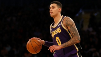 Kyle Kuzma Had A Monster First Quarter Against The Clippers After His Teammates Roasted His Pregame Fit