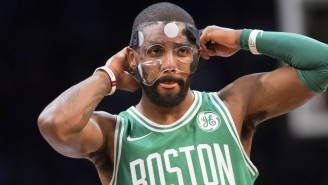 Kyrie Irving Is Day-To-Day After Suffering A Facial Fracture