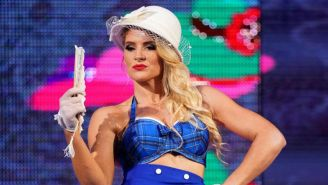WWE's Lacey Evans Had An Incident With A Cop In Canada, Then Admitted It Was Staged
