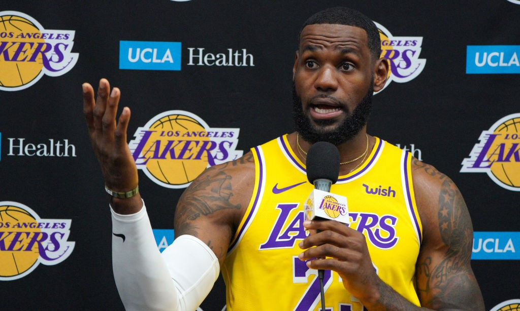 LeBron James Takes Issue With The NCAA Suspending Chase Young And James Wiseman