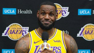 The Lakers Will Be 'Intelligent' About Playing LeBron James In The Preseason