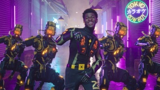 Lil Nas X Is Inescapable In His New Cyberpunk 'Panini' Video
