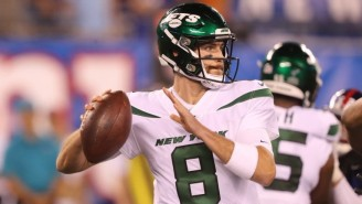 The Jets Had To Go To Third-String QB Luke Falk After Trevor Siemian Was Injured Against The Browns
