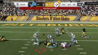 This Ridiculous Madden Glitch Somehow Turned A Fumble Into A Pass To A Defender For A Score