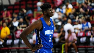 Mo Bamba Cut His Hair After Losing A Bet With Shaq On The LSU-Texas Game