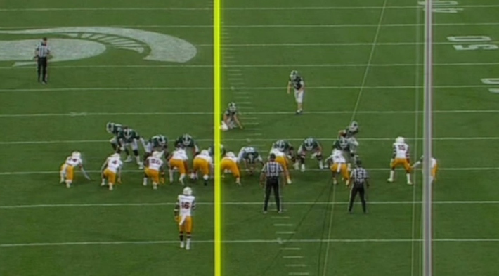 Michigan State Lost After A Game-Tying Field Goal Was Called Back For 12 Men On The Field