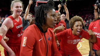 The Mystics Flexed On The Aces After Winning Game 4 To Reach The WNBA Finals