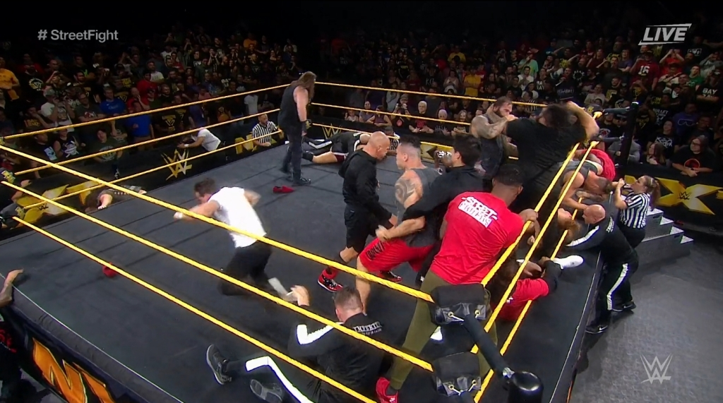 NXT Results 9/18/19: USA Network Debut Episode