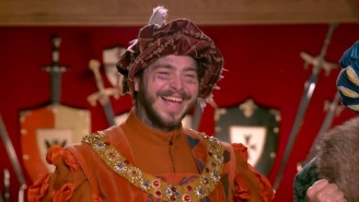 Post Malone And Jimmy Fallon Are Historically Delightful During Their Visit To Medieval Times