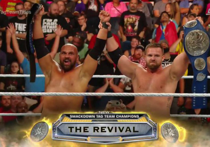 The Smackdown Tag Team Championship Also Changed Hands At WWE Clash Of Champions