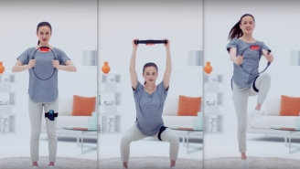 Nintendo's 'Ring Fit Adventure,' The Perfect In-Home Workout Amid Coronavirus, Is Sold Out Everywhere