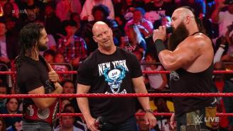 Steve Austin Returned To Madison Square Garden On Raw And Brought A Stone Cold Stunner With Him
