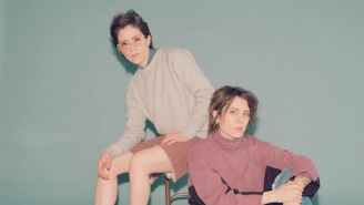 Tegan And Sara Crave Truth On Their New Single 'Don't Believe The Things They Tell You (They Lie)'