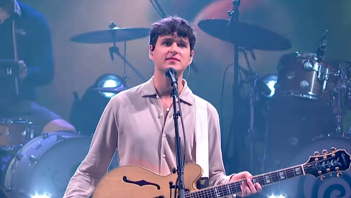 Vampire Weekend Bring The Flamenco-Influenced Vibes Of 'Sympathy' To 'The Late Show'
