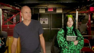 Woody Harrelson Shows Billie Eilish Around 'Saturday Night Live' In A New School-Themed Promo