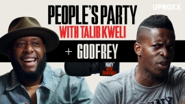 Talib Kweli And Godfrey Talk Rappers vs. Comics, Studying Bernie Mac, Snoop Dogg