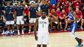 Zion Williamson Broke A Golf Club During A Pelicans Team Golfing Outing