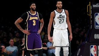 Anthony Davis 'Wanted' To Play Center In The Lakers Win Over The Jazz