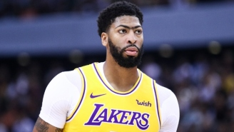 Anthony Davis Thinks The Lakers' Title Chances 'Got Higher' With The Extra Time Off