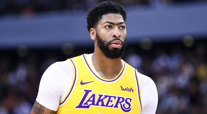 Anthony Davis Suffered A Thumb Sprain During A Preseason Game In China
