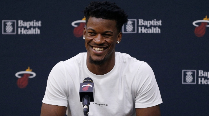 Jimmy Butler Got Up At 3:30 A.M. For The Heat's First Training Camp Practice 6.5 Hours Later