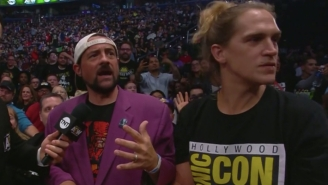 Kevin Smith Says WWE Uninvited Him And Jason Mewes From Smackdown After They Were On AEW Dynamite