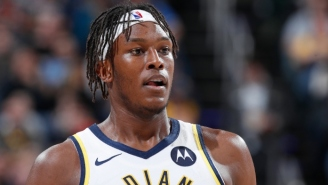 Myles Turner Was Helped To The Locker Room With A Sprained Ankle