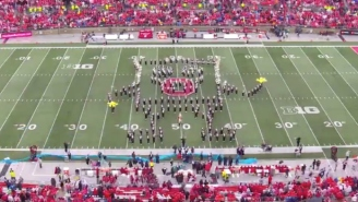 The Ohio State Band Put On A 'SpongeBob SquarePants' Halftime Spectacular