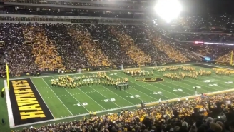 The Iowa Band Played '5000 Candles In The Wind' For Lil' Sebastian