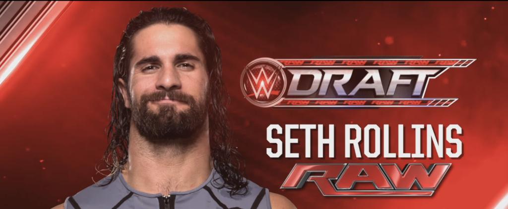 Seth Rollins in the 2016 WWE Draft