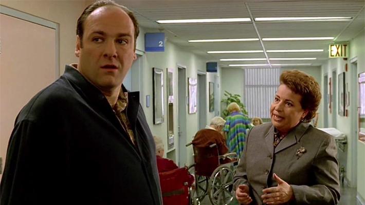Tony Soprano in the hospital Sopranos 13