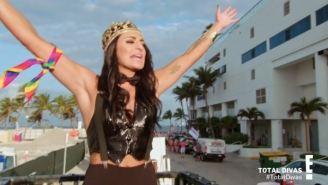 Total Divas Post Match: Kings, Farmers, And Mermaids