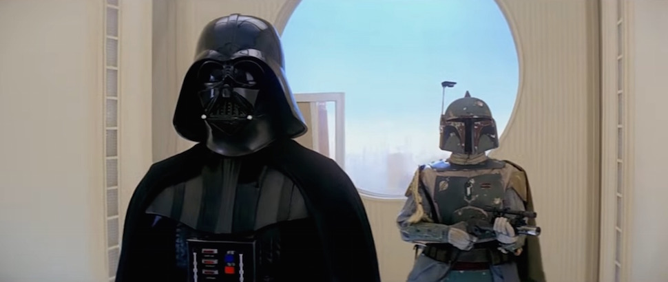 Darth Vader's Elaborate Surprise Cloud City Dinner Table Plan Is Weird!