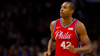 The Sixers Had Former Celtic Al Horford Ring The Bell Before Facing Boston