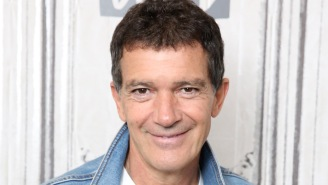 Antonio Banderas Says He Knows About That Beloved GIF Of Him At A Computer From The Movie 'Assassins'