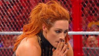 Becky Lynch Retained Her Raw Women's Championship In A Crazy Hell In A Cell Match